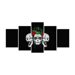 Vícedílný obraz La Maison Des Couleurs Skulls