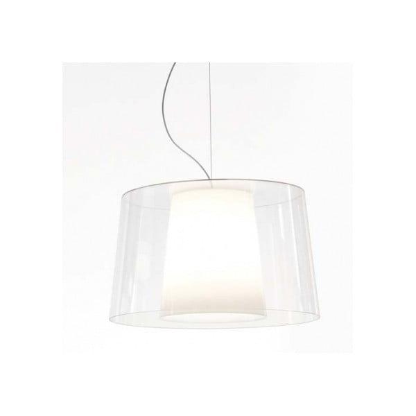 Transparentní závěsné svítidlo Pedrali Claude