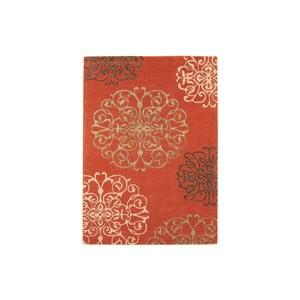 Vlněný koberec Matrix Tangier Terracotta 160x230 cm
