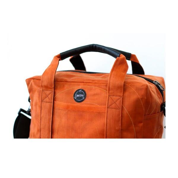 Cestovní taška USB oranžová, velikost S