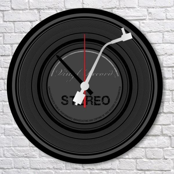 Nástěnné hodiny Vinyl