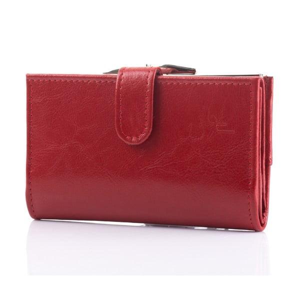 Kožená peněženka Felice P13 Red