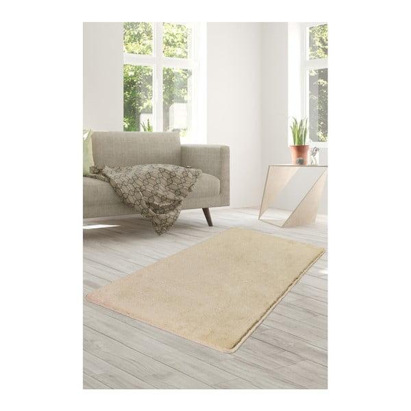 Světle béžový koberec Milano, 140x80cm
