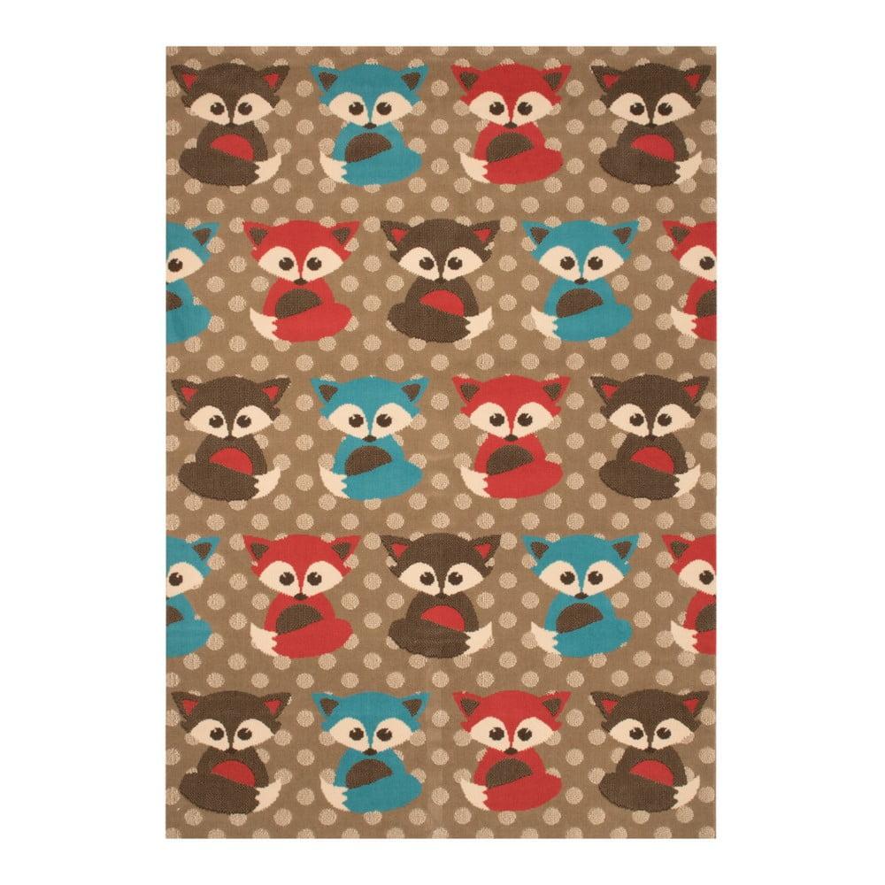 Dětský koberec Zala Living Fox, 140 x 200 cm