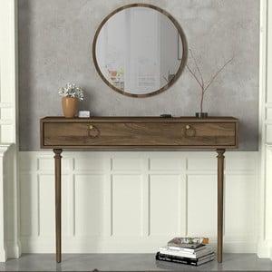 Set konzolového stolu sezrcadlem Goldy