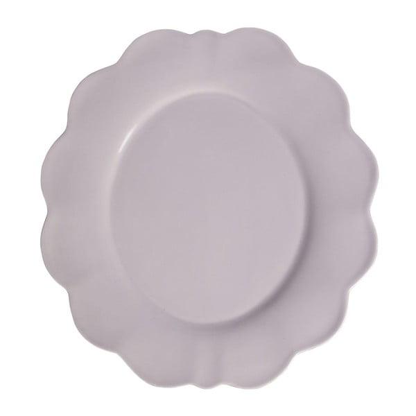 Sada 4 ks velkých talířů Petale Lilac