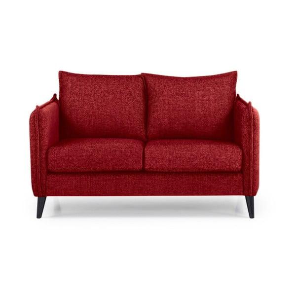 Leo piros kétszemélyes kanapé - Softnord