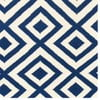 Vlněný koberec Luisa Dark Blue, 240x155 cm