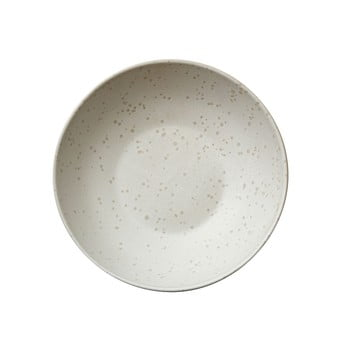 Bol din ceramică pentru paste Bitz Basics Matte Cream, ⌀ 20 cm, crem