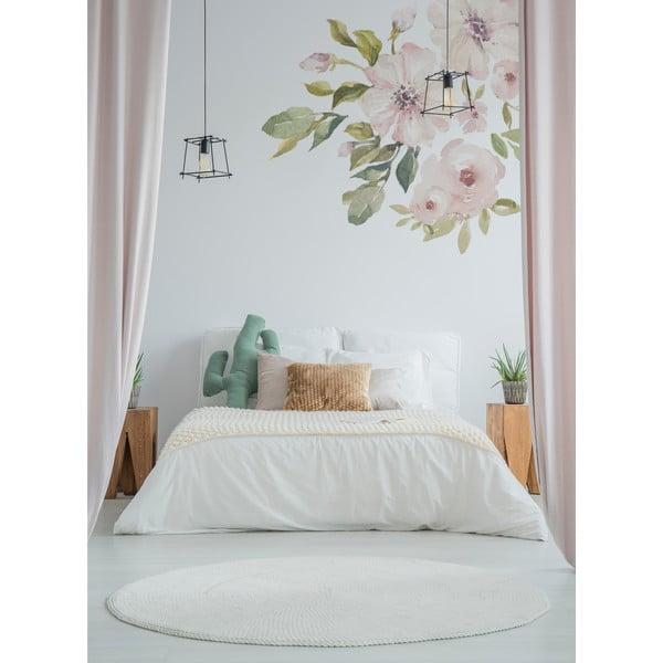 Set nástěnných samolepek Dekornik Botanix Pastel Magnolia S