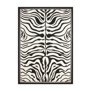 Koberec USA Housten Black/White, 120x170 cm
