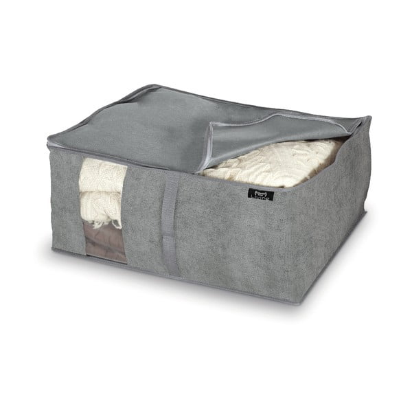 Cutie pentru depozitare Domopak Stone, 55x45cm, gri