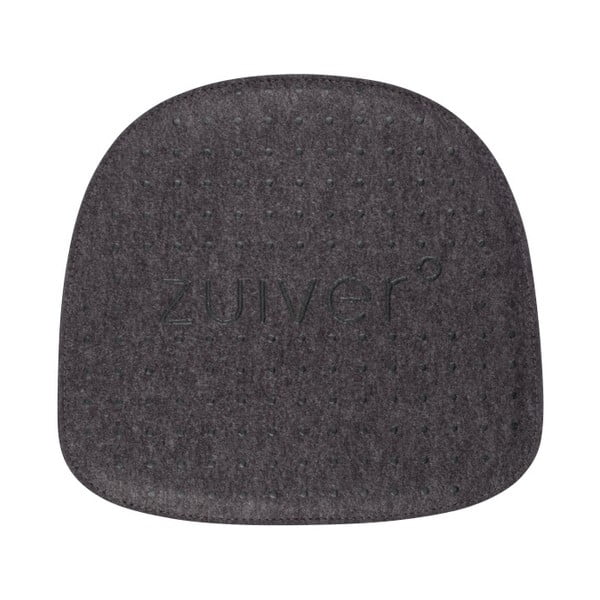 Pernă scaun Zuiver Albert Kuip, gri închis