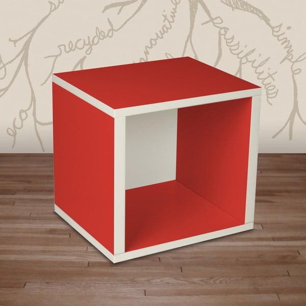 Police Cube, červená