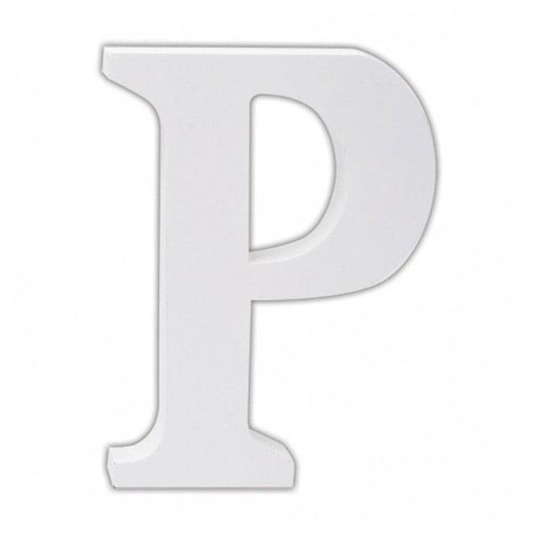 Dřevěné písmeno P