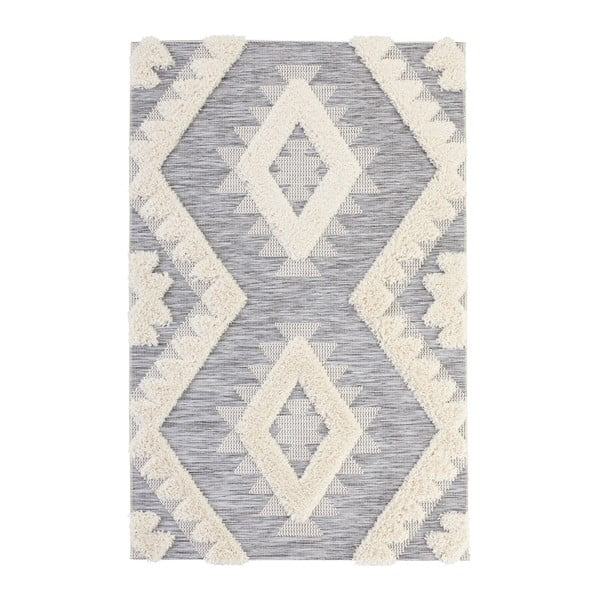 Covor Mint Rugs Handira Indian, 150 x 77 cm, gri