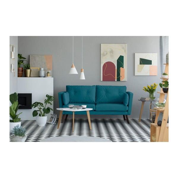 Tyrkysová 3místná pohovka Mazzini Sofas Cotton