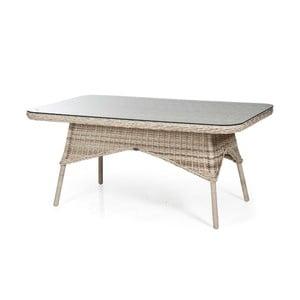 Béžový zahradní jídelní stůl Brafab Evita, 150x90cm
