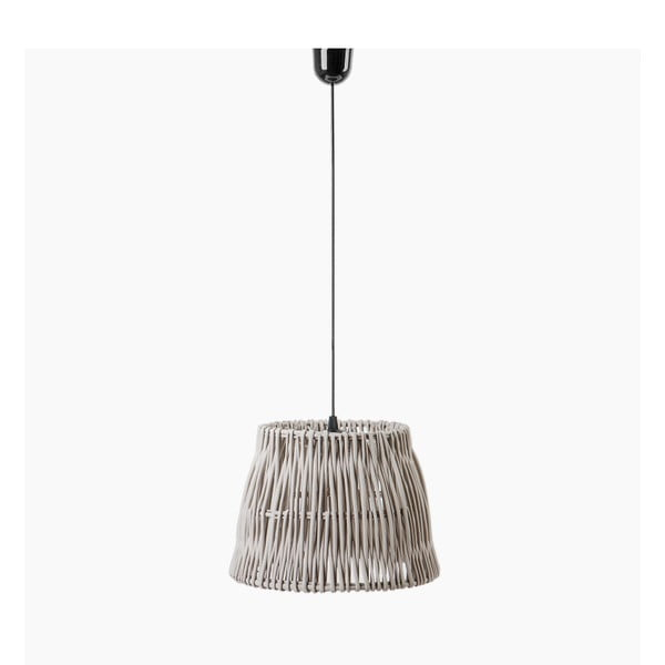 Stropní světlo Line, 27x18 cm, šedé