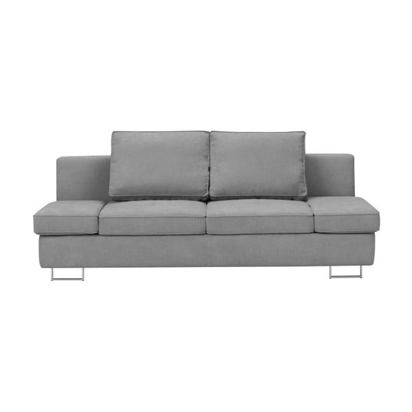 Jasnoszara 2-osobowa sofa rozkładana Windsor & Co Sofas Iota