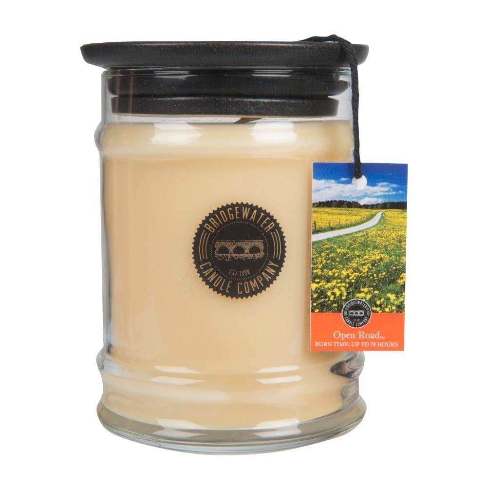 Svíčka ve skleněné dóze Bridgewater Candle Company Open Road, doba hoření 65-85 hodin