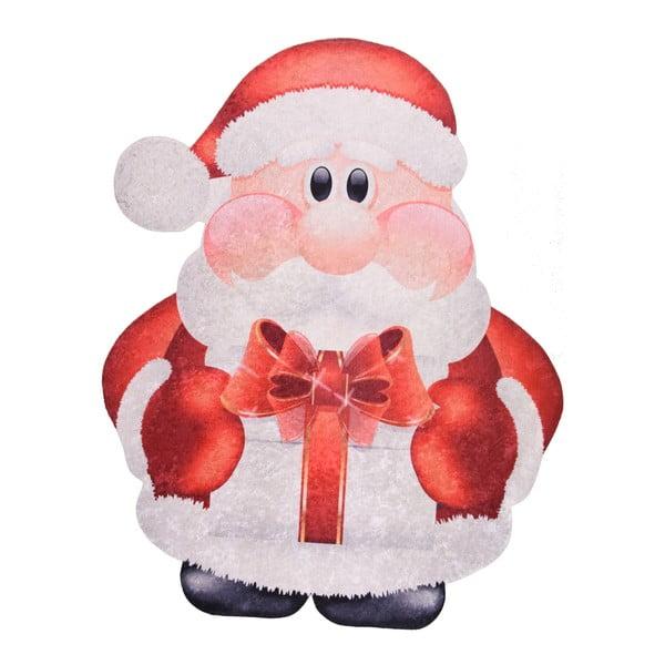 Covor Vitaus Santa, 60 x 100 cm, roșu-alb