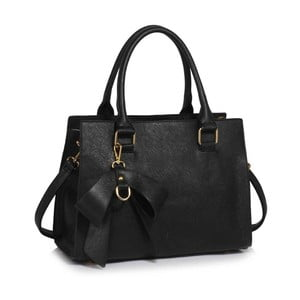 Geantă L&S Bags Bowcham, negru