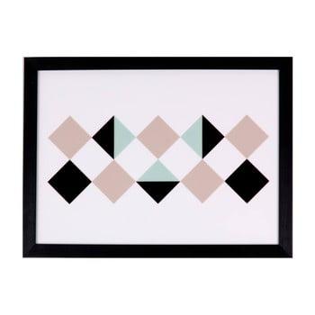 Tablou Sømcasa Rhomb, 40 x 30 cm