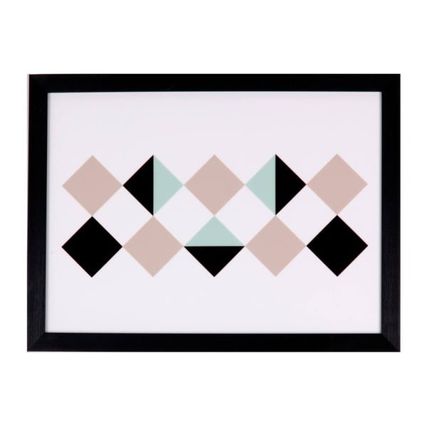 Obraz sømcasa Rhomb, 40x30 cm