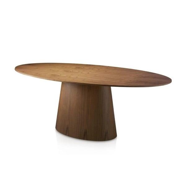 Owalny stół z forniru orzechowego Ángel Cerdá Luis