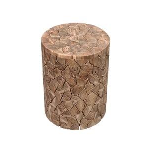 Stolička z teakového dřeva HSM Collection Kaie