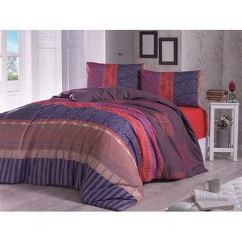 Lenjerie de pat și cearșaf Arabella, 200 x 220 cm
