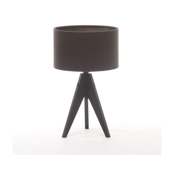 Stolní lampa Artista Black Birch/Dark Grey Felt, 28 cm