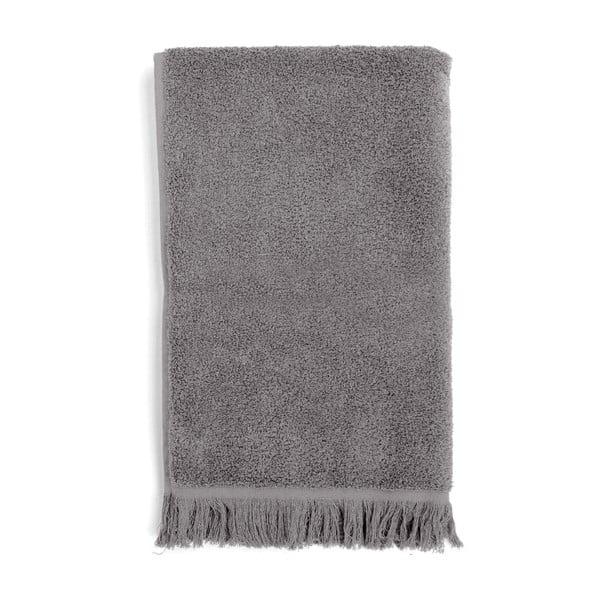 Set 2 šedých bavlněných osušek a 2 ručníků Casa Di Bassi Soft
