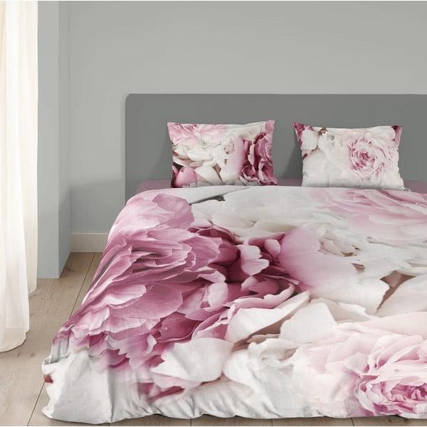 Bavlněné povlečení Muller Textiel Peonies, 135 x 200 cm