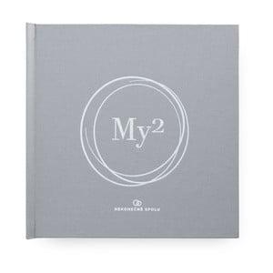 Mapující kniha pro manžele s ruční ražbou se samolepkami Bloque.My2