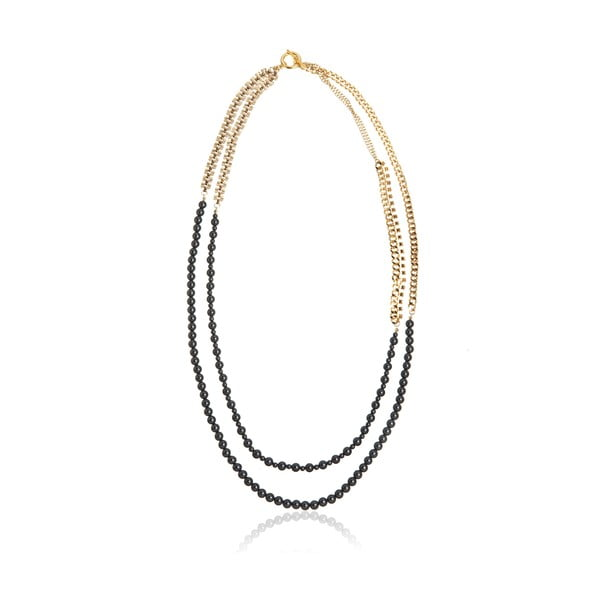 Dámský náhrdelník ve zlaté barvě NOMA Lisa