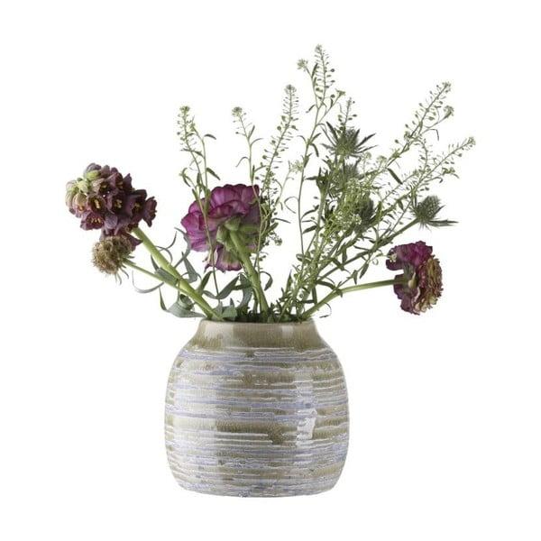 Kameninová váza A Simple Mess Kegle Dewkist, ⌀15,5cm