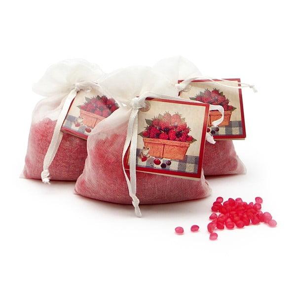 Vonné vrecúško z organzy s vôňou červeného ovocia Ego Dekor Frutos