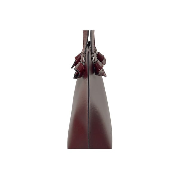 Kožená kabelka Betta Bordeaux