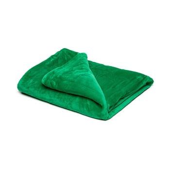 Pătură din micropluș My House, 150 x 200 cm, verde imagine