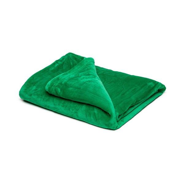 Pătură din micropluș My House, 150 x 200 cm, verde