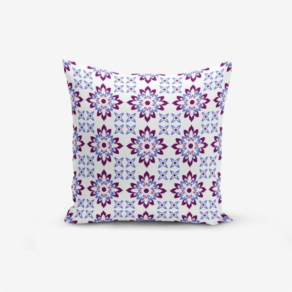 Modern Flower Mala pamutkeverék párnahuzat, 45 x 45 cm - Minimalist Cushion Covers