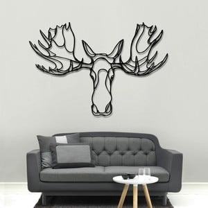 Nástěnná dřevěná dekorace Moose Head