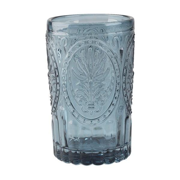 Modrá sklenice Creative Tops Festival Folk, 350 ml