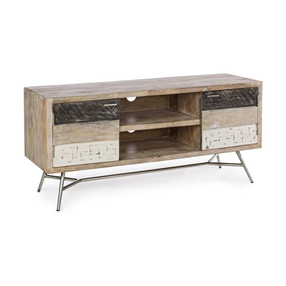 Televizní stolek z mangového dřeva Bizzotto Leiston