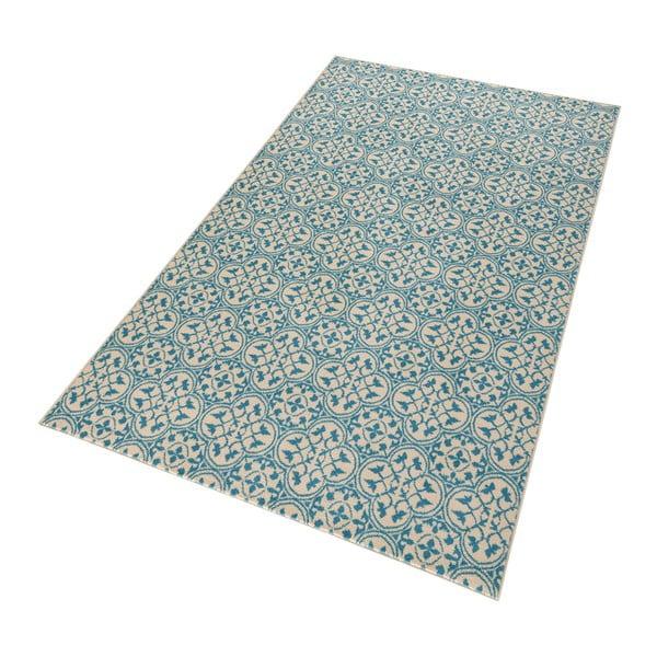 Modrý koberec Hanse Home Gloria Pattern, 80x150cm