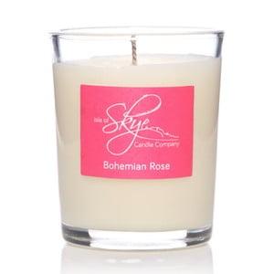 Svíčka s vůní jantaru a růže Skye Candles Container, délkahoření12hodin