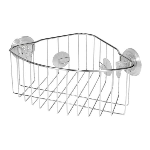 Kovový košík na přísavku Corner Basket