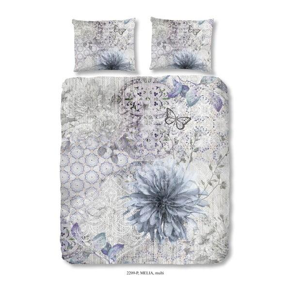 Lenjerie din bumbac pentru pat dublu Good Morning Melia Multi, 200 x 240 cm